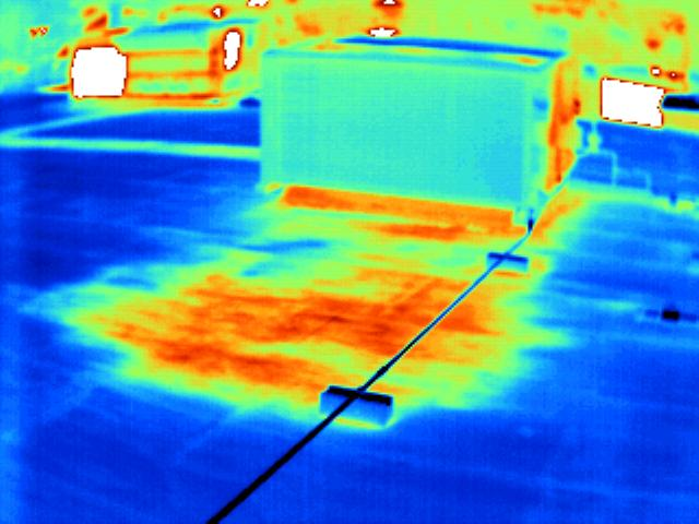 Thermal Mold Detection