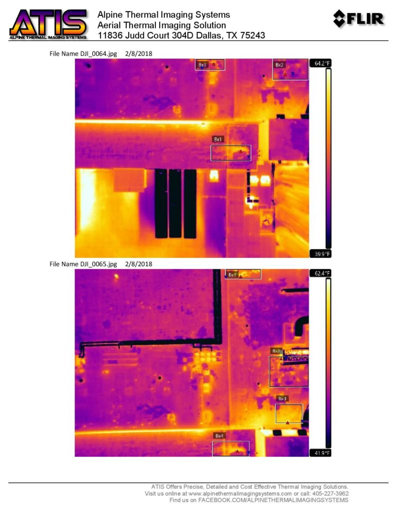 Dallas Thermal Imaging Inspection Company